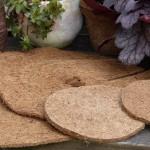 Mulchscheiben aus Kokosmaterial