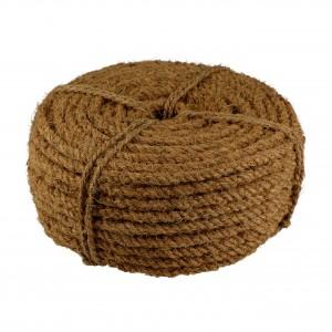 Kokosseil 50m x 1cm - 3fach gewickelt