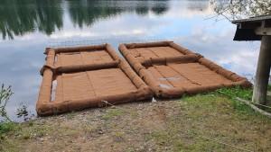 Schwimmende Biotope - fertig zur Bepflanzung